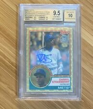2018 Topps Silver Pack Chrome Superfractor Auto Darryl Strawberry  BGS 9.5