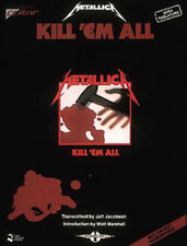 METALLICA GUITAR TABLATURE / ** BRAND NEW**/  KILL'EM ALL / METALICA GUITAR TAB