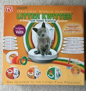 Litter Kwitter Cat Toilet Training System - (No DVD)