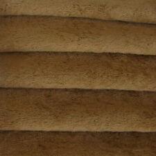 "1/4 yd Vis1 Tuscan Chestnut Intercal 6mm ""Flat"" Med Dense German Viscose Fabric"