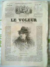 LE VOLEUR - Avril 1883 -      l'Arabe de la rue