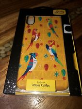 Disney Parks OTTERBOX iPhone 10 XS MAX Case Enchanted Tiki Room Birds Fantasy