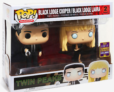Sdcc 2017 Pop! Twin Peaks Black Lodge Cooper & Laura Figure Set Funko