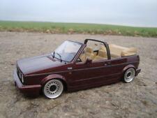 1:18 VW Golf 1 Cabrio Tiefer Tuning mit 15 Zoll Stahlfelgen Echt Alu Felgen