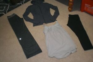 Lot of Lululemon Astro Pants, Rare Dance Studio Jacket, Crops and Tank sz 6