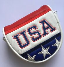 New CMC USA Embroidered Magnetic Closure Putter Cover