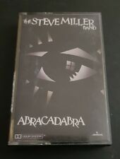 THE STEVE MILLER BAND - 'Abracadabra' Cassette Tape Album 1982