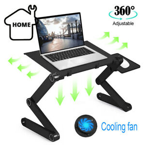 Adjustable Laptop Stand Desk Table Folding Computer Table Portable Sofa Lap Tray