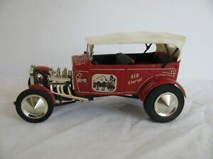 Vintage Monogram 1/24 Scale 1930 Ford Street & Show Phaeton Red Chariot PC75-149