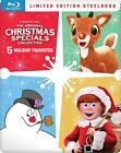 THE+ORIGINAL+CHRISTMAS+SPECIALS+COLLECTION+BLU-RAY+STEELBOOK+FROSTY+RUDOLPH