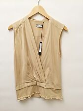 NWT Chris Benz Small Oyster Cotton Top