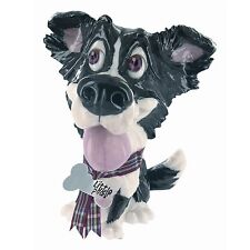 Little Paws 317-LP-GYP Gyp Border Collie Dog Figurine