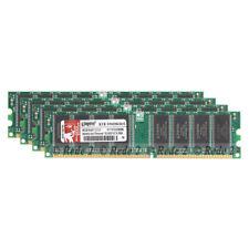4GB 4X1GB DDR1-400Mhz PC3200 2.5V 184 PIN Dimm Desktop SDRAM ram free ship