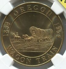 1959 OR - HK - 563 - R3 - SC$1 - Wagon Train Dollar - Centennial -Lot #TT 1737 G