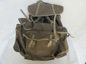 Rucksack Gebirgsjäger + Tragegestell Backpack + Carrier Gebirgskraxe Steingrau