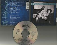 THE HIGHLANDERS A Perfect Crime 1989 LIMITED 10TRX Virgin Records CD USA Seller