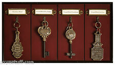Grand Hotel Key Rack Honey Distressed French Finish by Authentic Models KC000