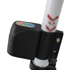 Neu Alarm diebessicher Schloß Sicherheit Diebstahlschutz für Fahrrad (SCHWARZ)