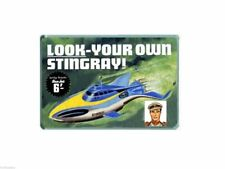 NOSTALGIA  KITMASTER STINGRAY KIT SEA JET lolly ADVERT - JUMBO FRIDGE MAGNET