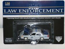 Alabama State Patrol Trooper Police Car Ford Crown Victoria 1:64 SpecCast