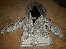 Protection System Toddler Puffer Parka Silver Girls Jacket 3T