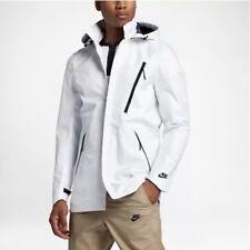 Nike Sportswear Waterproof Bonded Blazer Rain Jacket Mens XL White Black