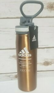 ADIDAS  SPORTS WATER BOTTLE TUMBLER Rose Gold- STAINLESS STEEL - HOT COLD 20 oz