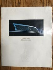CHRYSLER LeBARON 1990 SALES CATALOG BROCHURE 11 in X 9 in COLOR COUPE CONVERTIBL