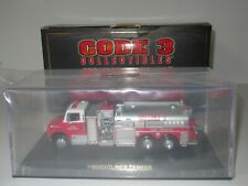 CODE 3, FDNY, FREIGHTLINER TANKER, FIRE TRUCK, 1:64 Scale COLLECTORS CLUB #12630