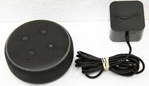 Genuine Amazon Echo Dot (3rd Gen) Charcoal - Alexa Far-Field Voice Control UD