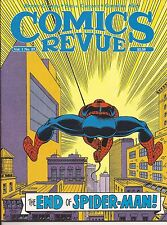 COMICS REVUE n. 23 magazine USA con strisce inedite in Italia di Spider-Man