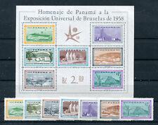 Panama Block 5 + Satz postfrisch / Weltausstellung .......................2/4099