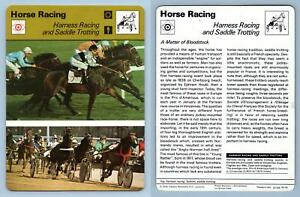 Harness Racing - Horse Racing - 1977-9 Sportscaster Rencontre Card