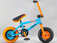 * GENUINE ROCKER-non copiare * - Blu in Acciaio iROK + BMX Incorporated MINI BICICLETTA BMX