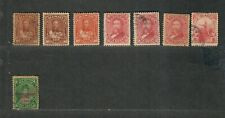 Hawaii Stamp Collection Mixed Condition