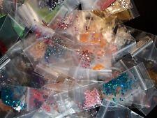 200 x Nail-Art Paket Strass°Glitzer°Fäden°Piercings°Sticker°Perlen° Ausverkauf