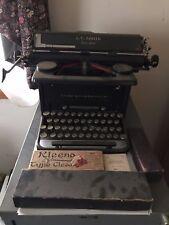 Antique L.C. Smith Corona (Super Speed) Typewriter
