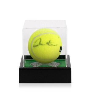 Martina Hingis Signed Penn Tennis Ball In Acrylic Case Autograph