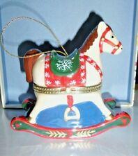 Christmas Musical Horse Ornament