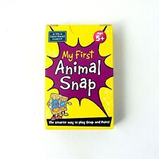 My First Animals Snap Pairs Cards Memory Game Brainbox Pictures Sounds Age 5+