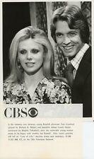 BIRGITTA TOLKSDORF RICHARD K WEBER SMILING LOVE OF LIFE ORIG 1977 CBS TV PHOTO