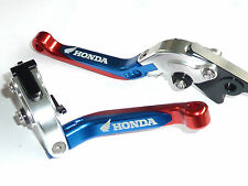 HONDA MSX125 2014-2018  BRAKE CLUTCH LEVER SET EXTENDABLE FOLDING engraved S15J
