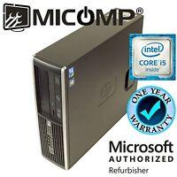 Fast HP Pro SFF Computer PC Intel Quad Core i5-2400 3.1Ghz 4GB RAM No Software