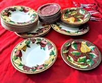 Pier 1 fruit dinnerware set