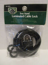 New Bushmaster Tree Stand Laminated Cable with Heavy Duty Metal Lock and Key