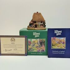 Lilliput Lane Lazy Day 1995 Collectible Cottages with Deed & Box Handmade in Uk