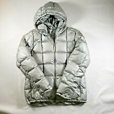 Abercrombie Fitch Jacket Goose Down Double Warmth Puffer Jacket Women's Size M