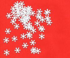 *** Tischdeko für Weihnachten *** WeißeSchneeflocken, 50 Stück