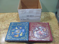 Disney's Storybook Collection Vol 1 & 2 The Easton Press, Leather Bound, USC#33