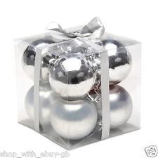 Decorazioni in argento in plastica per feste e party
